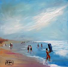 beach scenes paintings