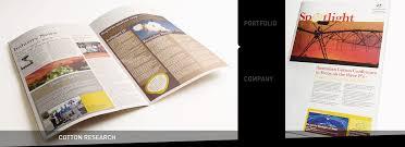 corporate newsletter design