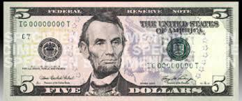$5 bill