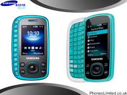 blue samsung phones