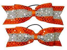 orange sequins