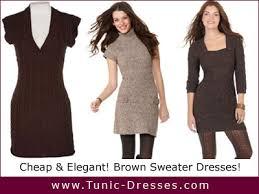 brown tunics
