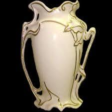 art nouveau ceramic