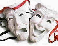 comedy drama mask