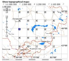 military topographic map