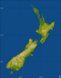 new zealand topography