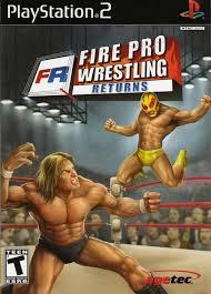 fire pro wrestling ps2