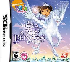 dora the explorer dora saves the snow princess ds