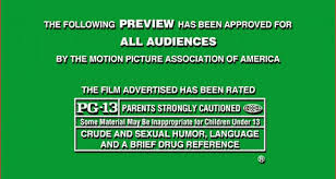 pg 13 rated movies
