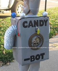 kids robot costumes