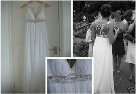 grecian bridal dress
