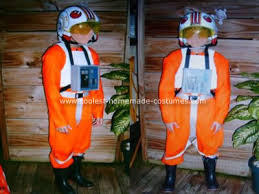 star wars pilot costume
