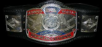 heavyweight title belt