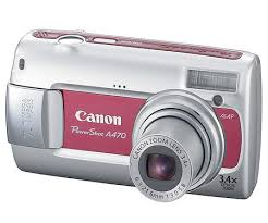 canon power a470