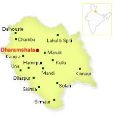 map of dharamshala