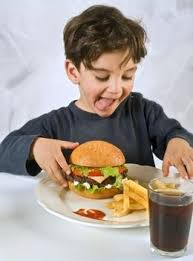 children and fast food