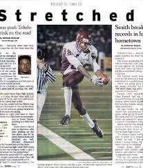football newspaper articles