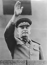 Josef Stalin waving