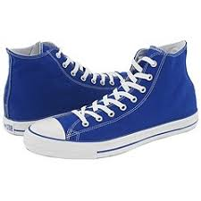 chucks blue