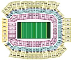 lucas oil stadium seat chart