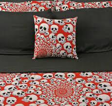 skull bed set