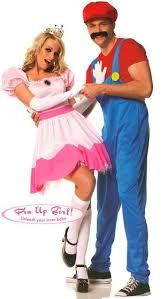 mario and princess peach costume