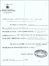 british death certificate