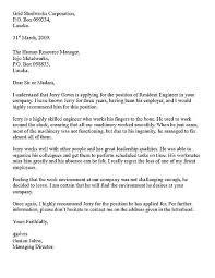 formal letter style