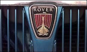 mg rover badge