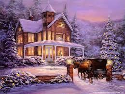 paintings of christmas