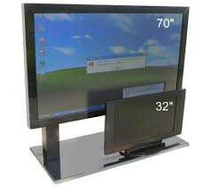 biggest computer monitors