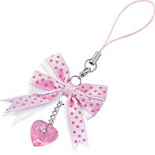 pink polka dot ribbon