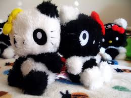 hello kitty panda plush