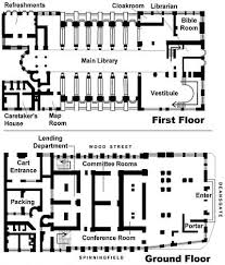 library plan