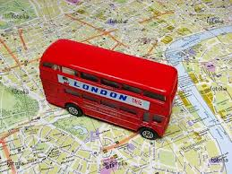 mapa autobus