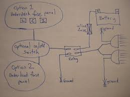 4 pin relay wiring