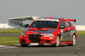 mitsubishi lancer race