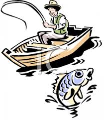 man fishing clip art