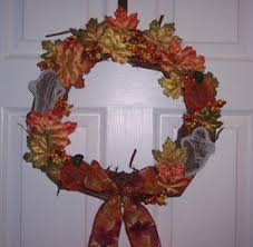 decorating grapevine wreaths