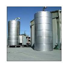 milk silos