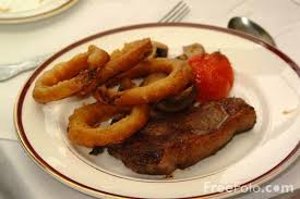 golden corral steak