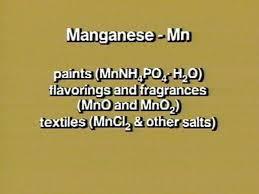 manganese uses