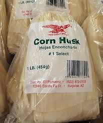 dried corn husks