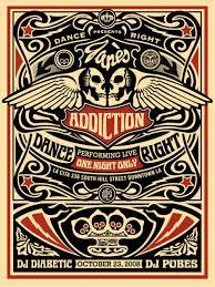 janes addiction poster