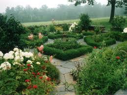 flagstone garden