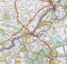 mapa podkarpacia