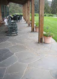 flat rock patio