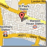 st pauls cathedral map