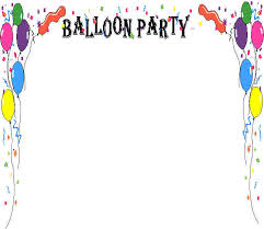 balloon theme