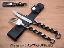twisted cutlery